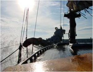 Rejs po Bałtyku na Opalu s/y Gwarek