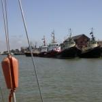 Rejs morski z Rygi. Wyjście z Liepaji.